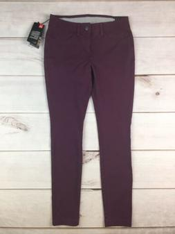 NWT $90 Under Armour Women's 2 Burgundy Fitted Golf Slim S