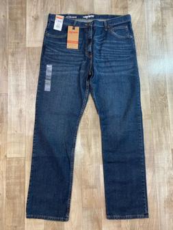 NWT Wrangler Advanced Comfort Men's Blue Jeans 38x32 MGW25BI