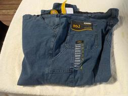 NWT Lee Carpenter blue jeans, mens 52 x 30, loose fit, cotto