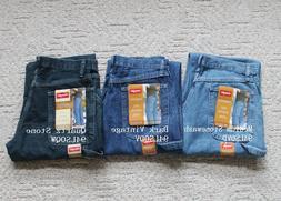 NWT Wrangler Men's Denim Carpenter Jeans Loose Fit All sizes