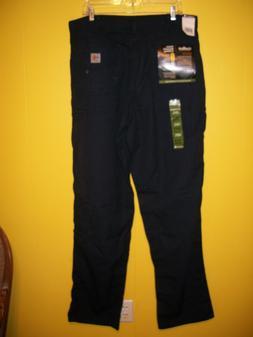 NWT CARHARTT FR Canvas Carpenter Jeans Men's Loose Fit navy