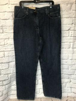 NWT Carhartt Holter Mens 36 x 32 Relaxed Fit Straight Leg Je