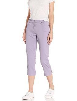 NWT Lavender Levi's Classic Fit Stretch Capri Jeans Mid Rise