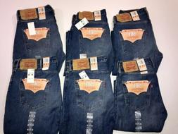NWT LEVI'S 501 ORIGINAL FIT JEANS BUTTON FLY MEN'S LEVIS 100