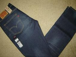 NWT Levi's 511 jeans 32 x 34 Slim Fit Retail $70   Style # 0