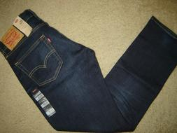NWT Levi's 511 jeans 33 x 30 Slim Fit Retail $70   Style # 0