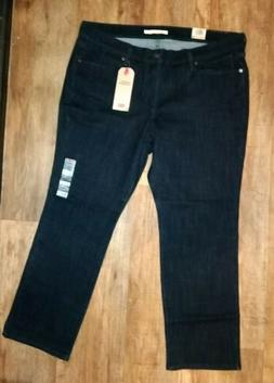 NWT Levi's Women's Classic Straight Leg Jeans Size 18W MSRP