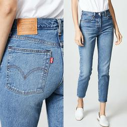 NWT Levi's Women's Wedgie Icon Jeans sz 26 These Dreams Blue