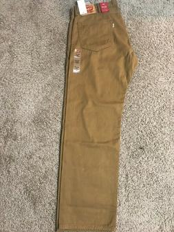 NWT*Close Out* Levis 505 Regular Straight Caraway Brown Jean