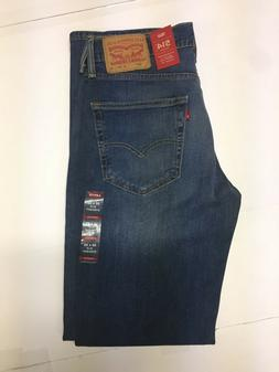 NWT Levis 514 Straight Blue Jeans With 2-Way Comfort Stretch