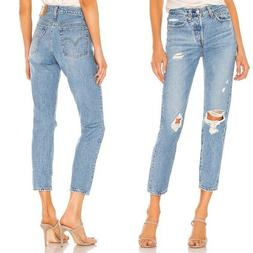 NWT LEVI'S WEDGIE ICON FIT HIGH RISE SKINNY JEANS SIZE 28
