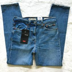 NWT Levis Wedgie Icon High Rise Tapered Straight These Dream