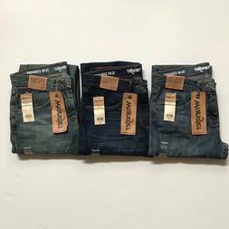 NWT Wrangler Men's Advanced Comfort Slim Straight Denim Jean