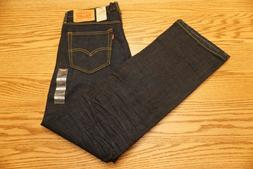 NWT MEN'S LEVI JEANS 527 Multiple Sizes Slim Boot Cut Below