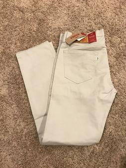 NWT MEN'S LEVI'S 502 REGULAR TAPER FIT STRETCH JEANS MOONSTR