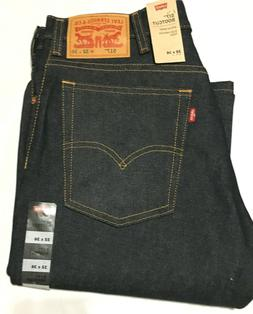 NWT MEN'S LEVI'S 517 0217 BOOT CUT SITS AT WAIST DARK BLUE J