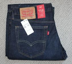 NWT • Men's LEVI'S 527 JEANS • Denim Pants • Dark Wash