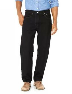 NWT Men's Levi's 550 Relaxed-Fit Jeans - Black - 36x36