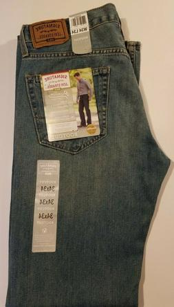 NWT MEN'S LEVI'S SIGNATURE GOLD BOOTCUT LIGHT BLUE JEAN PANT