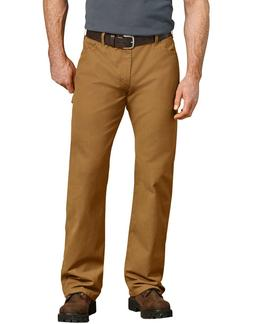 NWT Men's Dickies LU239 Relaxed Straight Fit Carpenter Brown