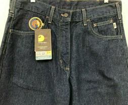 NWT Mens Carhartt FR Jeans Flame Resistant NFPA 2112 Signatu