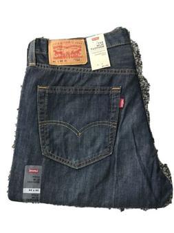NWT Men's Levi's 527 Slim Boot Cut Dark Blue Jeans Size