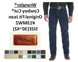 NEW MENS Wrangler® Cowboy Cut® Original Fit Jeans