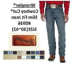 NWT MENS Wrangler® Cowboy Cut® Slim Fit Jean 12 Colors