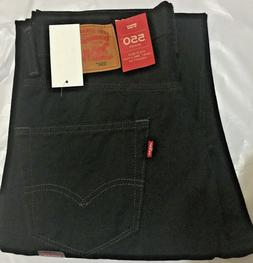NWT MN LEVI'S 550 0260 RELAXED FIT STRAIGHT LEG JEANS PANT