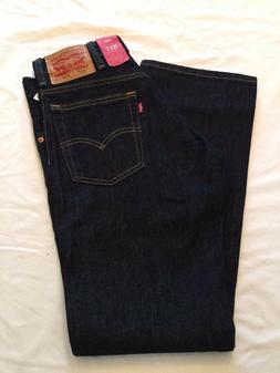 NWT NEW LEVI'S Levi Jeans Denim 517 Bootcut Boot-Cut Rinsed