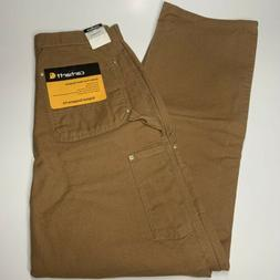 NWT New with Tags Mens Carhartt Dungaree Fit Brown Carpenter