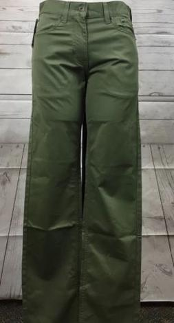 Olive Green Dockers 5 Pocket Slim Fit Jean Cut Pacific Colle