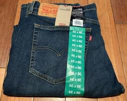 NWT LEVI'S 514 MEN'S REGULAR STRAIGHT FIT STRETCH DENIM JEAN