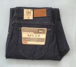 NWT  Vintage Women's Lee Stretch Dark Indigo Blue Jeans-Size