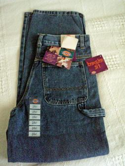 NWT Women's Dickies Relaxed Fit Carpenter Jeans Size 14 Reg.