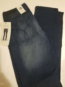 NWT Calvin Klein Women's Size 8/32 Ultimate Skinny Jeans Sta