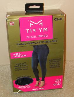 Open box - My Fit Jeans As Seen On TV Size 14-20 Women's Str