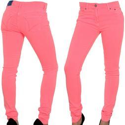 Adidas Originals Ladies Super Skinny Pink Jeans Jeggings Wom