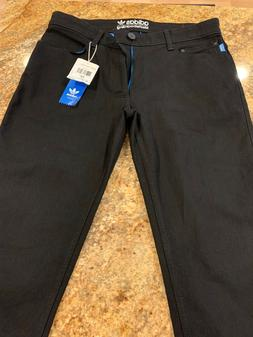 Adidas Originals Mens Skateboarding Jeans Black Size 32 NWT