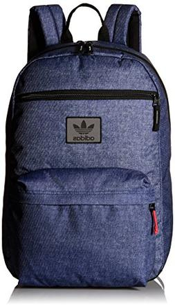 adidas Originals National Backpack, One Size, Denim Print/Bl