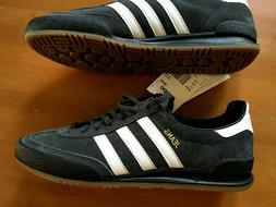 Adidas Originals Suede Leather US 8.5 -Carbon Gray Black Whi