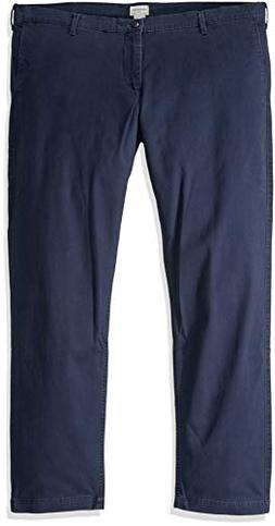 Dockers Men's Pacific Washed Khaki Slim Tapered Pant, Pembro
