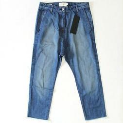 paris jeans crop drop crotch size 25