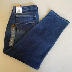Lee Perfect Fit Straight Leg Secretly Shapes Jeans Size 16 S