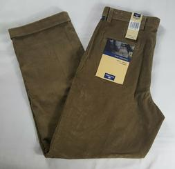 Dockers Pleated Cuffed Relaxed Fit Corduroy Pants Men's 32 x