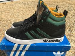 RARE NEW Adidas Originals Top Court Men's 12 Black Green Jea