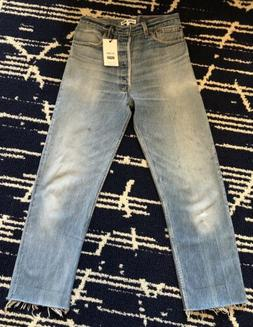 Re/Done Originals Levi's Loose Straight Jean in Indigo Size
