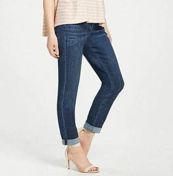 regular classic denim boyfriend jeans brushed indigo