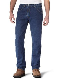 Wrangler Men's Regular Fit Jeans, Dark Denim, 33W x 32L