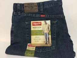 Wrangler Men's Regular Fit Jeans, 44 X 30, Dark Stone 760609